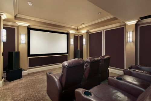 Create a custom home theater